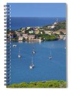 Harbor Blues Spiral Notebook