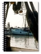 Harbor Boats Spiral Notebook