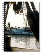Harbor Boats Spiral Notebook
