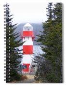 Harbor Breton Lighthouse Spiral Notebook