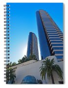 Harbor Club Towers Spiral Notebook