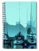 Harbor Impression Spiral Notebook