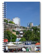 Harbor In Salvador Da Bahia Brazil Spiral Notebook