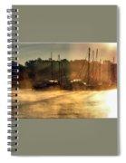 Harbor Mist Spiral Notebook