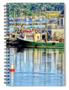 Harbor Morning Spiral Notebook