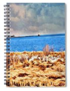 Harbor Of Tranquility Spiral Notebook