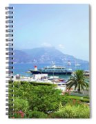 Harbor View- Cote D'azur, France Spiral Notebook