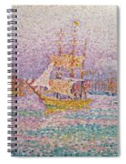 Harbour At Marseilles Spiral Notebook