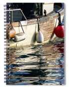 Harbour Reflections 3 - June 2015 Spiral Notebook
