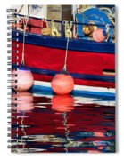 Harbour Reflections 5 - June 2015 Spiral Notebook