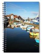 Harbour Side  Spiral Notebook