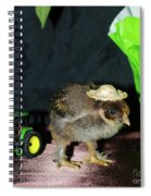 Hard Day Plowing Spiral Notebook