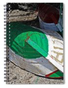 Hard Landing Spiral Notebook