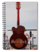 Hard Rock Cafe Nashville Spiral Notebook