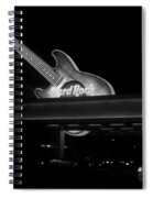 Hard Rock Cafe Sign 2 B-w Spiral Notebook