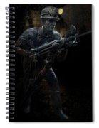 Hard Rock Mining Man Spiral Notebook