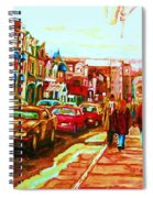 Hard Rock  On Crescent Spiral Notebook