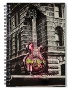 Hard Rock Philly Spiral Notebook