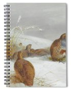 Hard Times Partridges By Thorburn Spiral Notebook