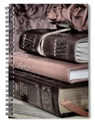 Hardcover Books Spiral Notebook