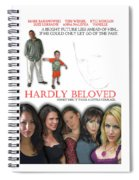 Hardly Beloved Poster Spiral Notebook