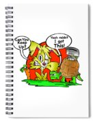 Hare And Tore Spiral Notebook