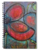 Hare Hare Poppies Spiral Notebook
