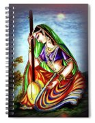 Hare Krishna - Ecstatic Chanting  Spiral Notebook