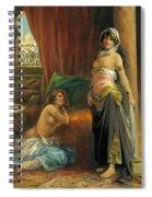 Harem Beauty Spiral Notebook