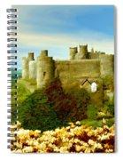 Harlech Castle Spiral Notebook