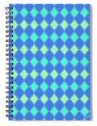Harlequin Minty Fresh Spiral Notebook