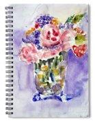 Harlequin Or Bright Side Of Life Spiral Notebook