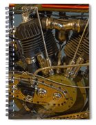 Harley 1918 Cycle Engine Spiral Notebook