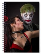 Harley And The Joker Spiral Notebook