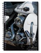 Harley Davidson 15 Spiral Notebook