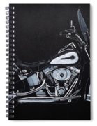 Harley Davidson Snap-on Spiral Notebook