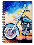 Harley Hog I Spiral Notebook