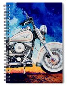 Harley Hog II Spiral Notebook