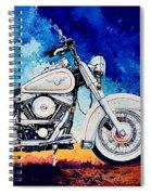 Harley Hog II Spiral Notebook