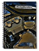 Harley Power Plant Spiral Notebook