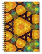 Harmony And Abundance Spiral Notebook