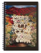 Flying Lamb Productions          Harmony Creative Village Group Portrait Spiral Notebook