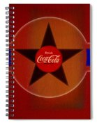 Harmony In Red Spiral Notebook