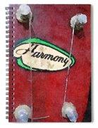 Harmony Uke Spiral Notebook