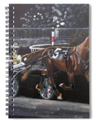 Harness Racing Spiral Notebook