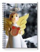 Harp The Herald Angels Sing Spiral Notebook