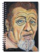 Harpdog Brown Spiral Notebook