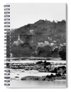 Harper's Ferry From Across The Potomac Spiral Notebook
