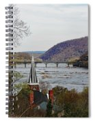 Harpers Ferry - Shenandoah Meets The Potomac Spiral Notebook