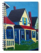 Harpswell Cottages Spiral Notebook